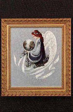 Earth Angel - Cross Stitch Pattern Love both colors & symbolism