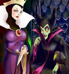 Disney villains via www.Facebook.com/DisneylandForMisfits