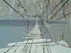 Hunza River Bridge, Pakistan