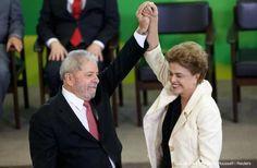 SAO PAULO, AKARPADINEWS.COM | PEMIMPIN sayap kiri Brasil, Luiz Inacio Lula da Silva dilantik sebagai Kepala Staf Presiden. Pelantikan yang dilakukan pada Kamis (17/3) itu dilakukan tatkala badai politik
