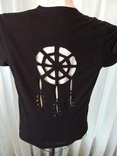DIY INSPIRATIONAL IMAGE: Redesigned Cut Shirt Slashed Tshirt