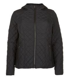 Inspire Black Quilted Hooded Jacket. Better than the one I bought at Asda?
