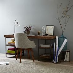 West Elm | Hewn Wood Desk