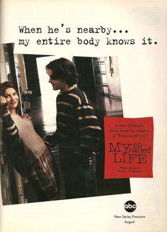 My So-Called Life ad in Sassy magazine