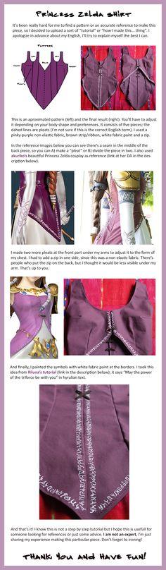 Princess Zelda Shirt (English) by abygate69.deviantart.com on @DeviantArt