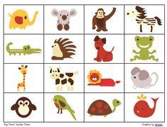 Boy Mama Teacher Mama | Retro Animal Bingo