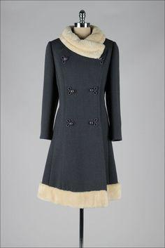 Vintage 1960's coat. Stegari NY