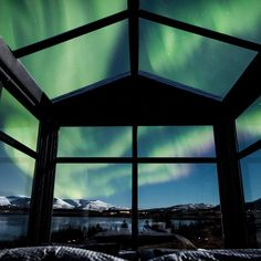 Glass-Walled Cabin in Iceland Lets You Gaze at the Northern Lights Right From Bed