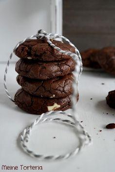 Rezept, Cookies, Espresso, Schokolade, Cynthia Barcomi Macarons, Espresso, Brownies, Sweets, Cookies, Drinks, Desserts, Food, Savoury Biscuits