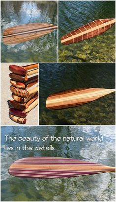 Handcrafted Custom Canoe Paddles by Winnebago Paddles #Paddlelife #WinnebagoPaddles