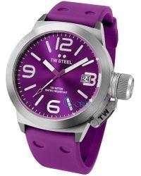 TW STEEL Canteen Purple Rubber Strap TW515 - http://rologia.org/tw-steel-canteen-purple-rubber-strap-tw515/