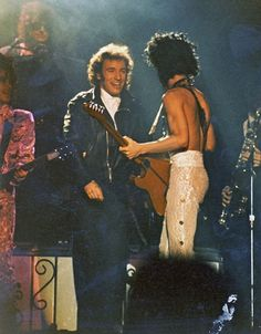 my-retro-vintage — Prince and Bruce Springsteen 1980s