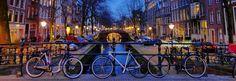 Bicicletas en Amsterdam, Holanda.