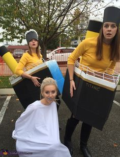 Titanic with Iceberg - Creative Halloween Costume Idea