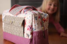 noodlehead: Emily's Cargo Duffle ~free PDF download sewing pattern