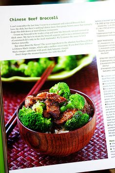 Chinese Beef Broccoli - so making this tomorrow for dinner