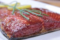 Maple Glazed Smoked Salmon -- This is SOOOO good!
