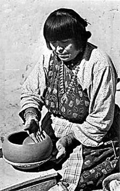 Maria Montoya Martinez - created traditional Native American pottery that was internationally recognized.
