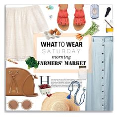 """""""What To Wear: Saturday Morning Farmer's Market"""" by jafashions ❤ liked on Polyvore featuring Vince Camuto, H&M, Chicnova Fashion, Toast, House of Holland, Fresh, Latelita, Dolce&Gabbana, Artland and Juliska"""