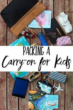 Knowing how to pack a carry-on for kids efficiently is key to making sure your travel day runs smoothly and with as few meltdowns as possible!