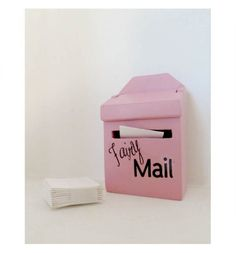 Everyone loves getting letters in the mail... fairies are no exception. These special 'lil Fairy Mailboxes are the perfect size for fairy mail. A perfect front door decoration for your Lil Fairy Door!