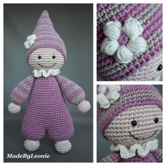 MadeByLeonie: Cuddly Baby (Link to pattern)