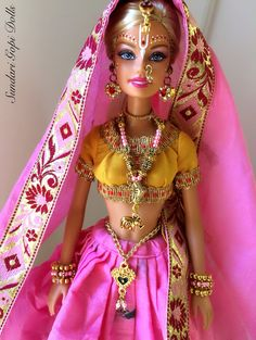 Gopi Doll OOAK Doll Altered barbie doll Chakrini by GopiDesigns