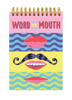 Word of Mouth Lenticular Notebook