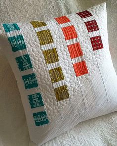 Quilted Cushion Sewing Pattern Inspiration!