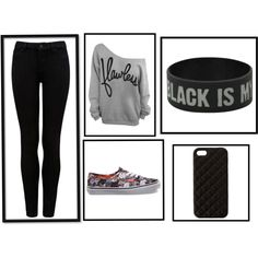 B by bethany-robison on Polyvore featuring Forever New, Vans and The Case Factory