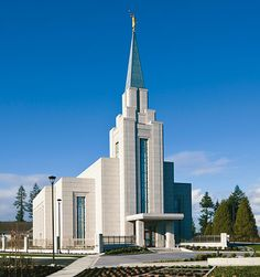 The Church of Jesus Christ of Latter-day Saints Temple in Vancouver British Columbia #LDS #Mormon