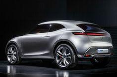Compacte crossover concept: Mercedes G-Code