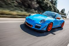 The Sharkwerks GT3RS 4.1 on Forgeline one piece forged monoblock GA1R wheels featured on Jay Leno's Garage.