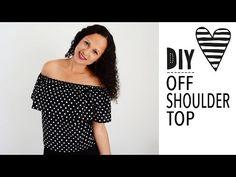 DIY MODE | Off Shoulder Top nähen