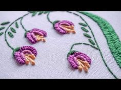 DIY Embroidery Ideas | Stitching Flower Design by Hand | HandiWorks #81 - YouTube