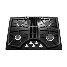 30-Inch 4 Burner Downdraft Gas Cooktop, Architect® Series II - Black