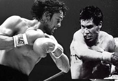 36 x 24 SUGAR RAY LEONARD ROBERTO DURAN Poster Boxing Poster B