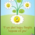 "Plant Happy Seeds Poster 11x17 or ""shrink to printable area"". - $"