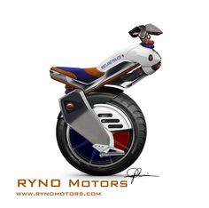 One feel motor bike