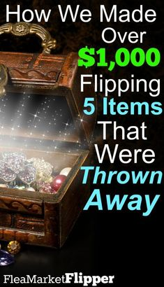 Trash to Treasure: Turn Unwanted Items Into Cash! From Trash to Treasure: Turn Unwanted Items Into Cash!From Trash to Treasure: Turn Unwanted Items Into Cash!