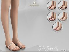 Sims 4 CC's - The Best: Madlen Sasha Shoes by MJ95