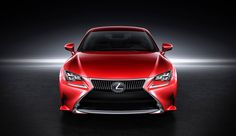 Lexus unveiled its striking new production-ready RC coupe, scheduled for launch in at the 2013 Tokyo Motor Show. Lexus Gs, New Lexus, Luxury Car Brands, Luxury Suv, Automotive Group, Automotive Design, Red Paint Colors, Tokyo Motor Show, Geneva Motor Show