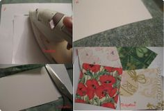 открытки из салфеток