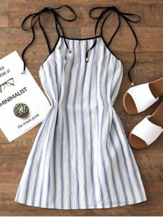 Up to 80% OFF! Stripes Mini Slip Dress. #Zaful #Dress Zaful,zaful outfits,zaful dresses,spring outfits,summer dresses,Valentine's Day,valentines day ideas,valentines outfits,cute,casual,classy,fashion,style,dress,long dress,maxi dress,mini dress,long sleeve dress,flounced dress,vintage dress,casual dress,lace dress,boho dress, flower dresses,maxi dresses,evening dresses,floral dresses,long dress,party dress,bohemian dresses,floral dress,bodycon dress @zaful Extra 10% OFF Code:ZF2017
