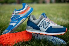 """For all you @Robin Thomas fans. The @New Balance """"Baseball Pack"""" in your Amazin' colors."""