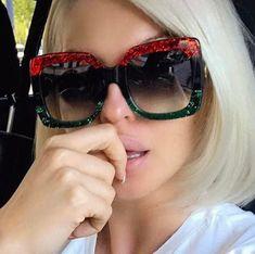 85ea0c69f As 7 melhores imagens em óculos gucci   Gucci eyeglasses, Sunglasses ...
