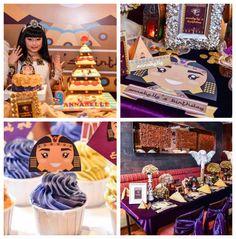 #Cleopatra Themed Birthday Party