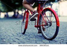 urban biker by Kryvenok Anastasiia, via ShutterStock
