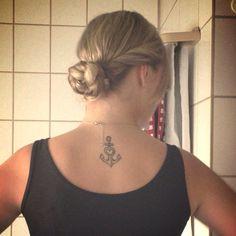 Tattoo; Anker; Liebe, Glaube, Hoffnung