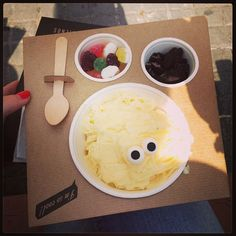 Eyescream and Friends (for a happy ice cream!) - Paseo Joan de Borbo 30, Barcelona
